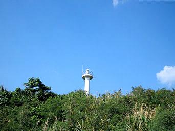 小浜島の細崎の灯台