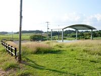 小浜島のちゅらさん広場/小浜節の碑 - ほぼ使われていないので常に雑草だらけ