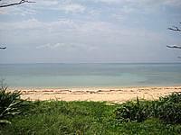 小浜島の南風花海岸/ウータ浜 - 泳ぐにはちょっと辛いかな?