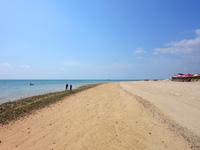 小浜島のイルマーレビーチ