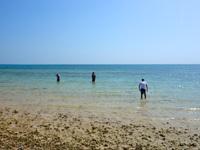 小浜島のイルマーレビーチ/アガリティーダビーチ - これが現実のアラマンダのビーチ