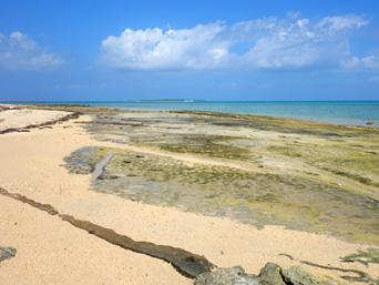 イルマーレとトゥマールの間のビーチ