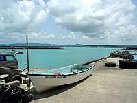 古宇利島の古宇利港・ターミナルの写真