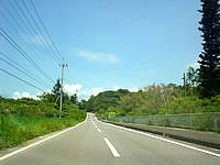 屋我地島ののどかな道路 - 屋我地島の道は結構いい感じ