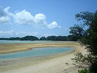屋我地島のロードパーク - 基本的に干潟になっていて豊かな海かな?