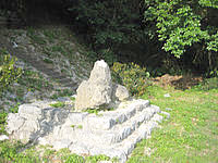 古宇利島の古宇利島 村墓の写真