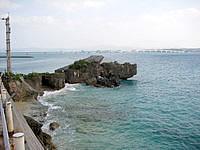 古宇利島のチグヌ浜/ちぐの浜/シラサ岬の写真