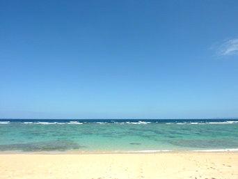 古宇利島のピース浜/北のビーチ