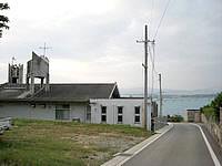 古宇利島の沖縄県立古宇利診療所の写真