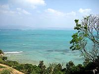 古宇利島の古宇利島東海岸の写真