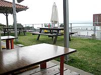 古宇利島の旧Cafeフクルビ(島の別の場所で宿として営業)の写真