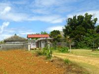 古宇利島のぶどうの樹ぶどうの樹カフェ/菜園カフェ - 看板が無く営業状態は不明