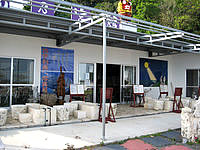 古宇利島の龍乃宮館 - 外側からだとなんとお店か分からないかも?