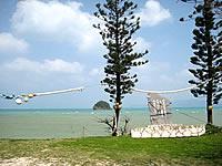 屋我地島の済井出の石碑
