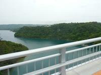 屋我地島のワルミ大橋(屋我地島側)の写真