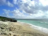 久高島のピザ浜
