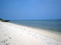 久高島のシマーシ浜