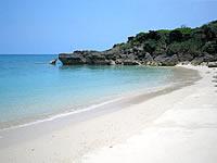 久高島のウディ浜/ロマンスロードのビーチ
