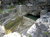 久高島のミガー/ニーカー - これがミガー(井戸)です