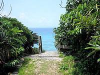 久高島のイザイガー - こんな感じでイザイガーへ行きます