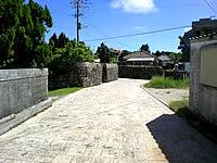 久高島の久高集落