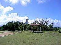 久高島のメーギ浜のグラウンド