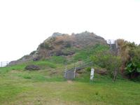 久米島の宇江城城跡全景