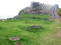 久米島の宇江城城跡全景 - 見晴らしがよさそうです