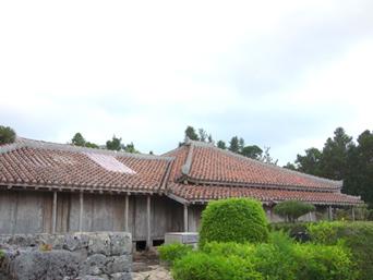 久米島の上江洲家(うえずけ)