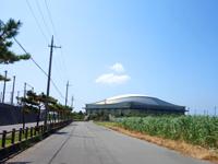 久米島の久米島野球場/ホタルドーム