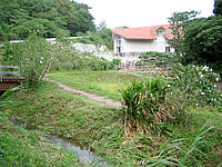 久米島の久米島ホタル館 - 敷地には広い庭もあります