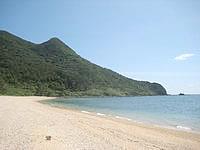 久米島のアーラ浜/阿良ビーチ - ビーチは結構広いです