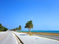 久米島の島尻の浜 - 基本的に滅多の人が来ません