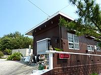 久米島のARIZONA CAFE(旧海色パーラー海海)