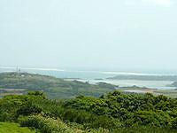 久米島の登武那覇園地下 - オーハ島からナカノ浜まで