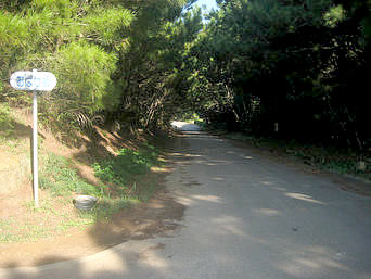 久米島のおばけ坂