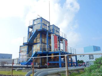 海洋深層水研究所/ふれあい館/海洋温度差発電プラント