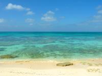 来間島の長間浜 - 穏やかな時はいいですが荒れやすいビーチ