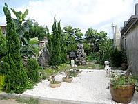 来間島のシュウガマ園芸