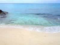 来間島のムスヌン浜 - 長間浜と同じ西岸にあるビーチ