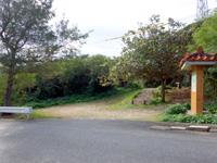 来間島のタコ公園 - タコ公園入口!ここから先が長い・・・