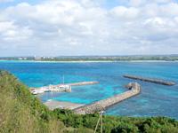 来間島の来間東農村公園/展望台 - 意外と景色は開けて楽しいです