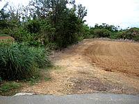 来間島の長間浜北の入口 - 2005年まではこうだった