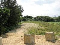 来間島の長間浜北の入口 - 2008年はこんな感じでした。