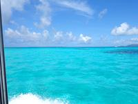 黒島港沖の海