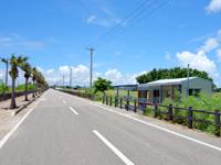 黒島の東筋/日本の道百選 - 最近は元南見家の建物が移設