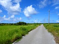 黒島の黒島灯台への道 - 灯台まであと少しの場所