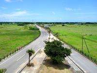 黒島の道百選展望台 - 東筋側の景色はなかなか
