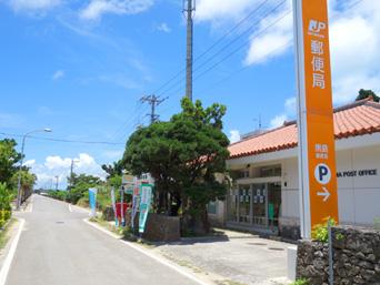 黒島の黒島郵便局「東筋にある郵便局」