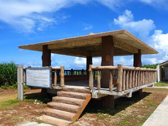 黒島の仲本海岸の吾妻屋「仲本海岸で定番の吾妻屋」